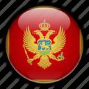 europe, montenegro icon