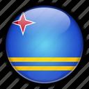 aruba, europe, netherlands icon