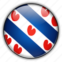 europe, frisian, netherlands icon