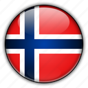 europe, norway icon