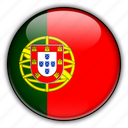 europe, portugal icon
