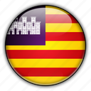 balearic, europe, islands, spain icon
