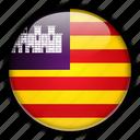 balearic, europe, islands, spain icon