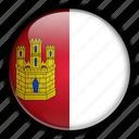 castile, europe, la, mancha, spain icon