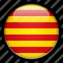catalonia, europe, spain icon