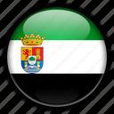 europe, extremadura, spain icon