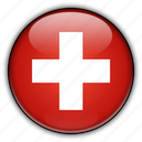 europe, switzerland icon