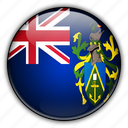 europe, islands, kingdom, pitcairn, united icon