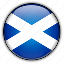 europe, kingdom, scotland, united icon