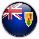 and, caicos, europe, islands, kingdom, turks, united icon
