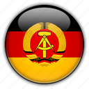 democratic, former, german, republic icon