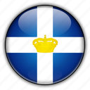 former, greece, kingdom icon
