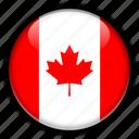 america, canada, north icon