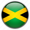 america, jamaica, north icon