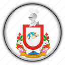 america, colima, mexico, north icon