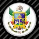 america, mexico, north, queretaro icon