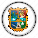 america, mexico, north, tamaulipas icon
