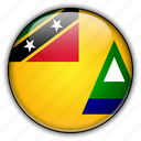 america, and, kitts, nevis, north, saint icon
