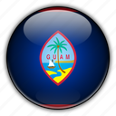 america, guam, north, remote, us icon
