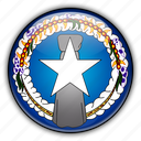 america, islands, mariana, north, northern, remote, us icon