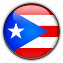 america, north, puerto, remote, rico, us icon