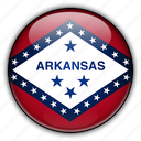 america, arkansas, north, states, united icon