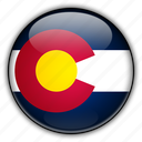 america, colorado, north, states, united icon