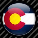 america, colorado, north, states, united icon