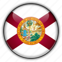 america, florida, north, states, united icon