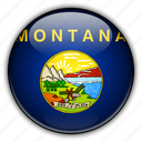 america, montana, north, states, united icon