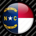 america, carolina, north, states, united icon