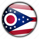 america, north, ohio, states, united icon