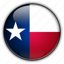 america, north, states, texas, united icon