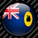 australia, oceania, western icon