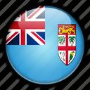 fiji, oceania icon
