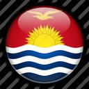 kiribati, oceania icon