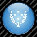 kosrae, micronesia, oceania icon