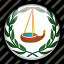 ngatpang, oceania, palau icon