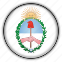 america, argentina, jujuy, south icon