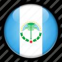 america, argentina, neuqun, south icon