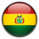 america, bolivia, south icon