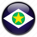 america, brazil, grosso, mato, south icon