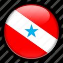 america, brazil, par, south icon