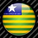 america, brazil, piau, south icon