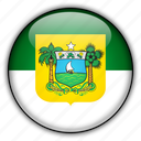 america, brazil, do, grande, norte, rio, south icon
