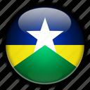 america, brazil, rondnia, south icon