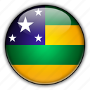 america, brazil, sergipe, south icon