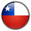 america, chile, south icon
