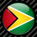 america, guyana, south icon