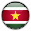 america, south, suriname icon